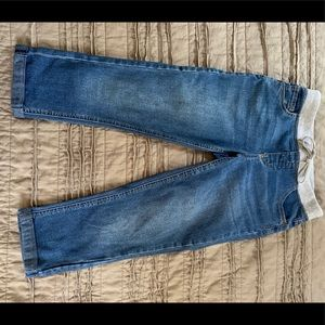 Justice Size 12 cropped jeans!